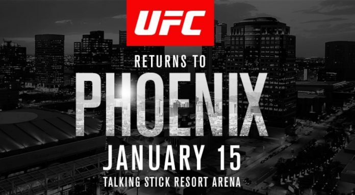 Fight Night 103: La primera del año en Phoenix