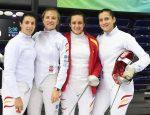 Equipo Espada femenina - Mundial Esgrima 2017 - 13ª clasificadas