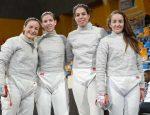 Equipo de Sable femenino Leipzig2017