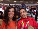 #london2017 #pasionporcompetir #atletismo #rfea #marcha Con el Gran entrenador de Marcha @sabiowalk #joseantonioquintana de grandes atletas como #alvaromartin #Lauragarciacaro #diegocarrera #josediaz