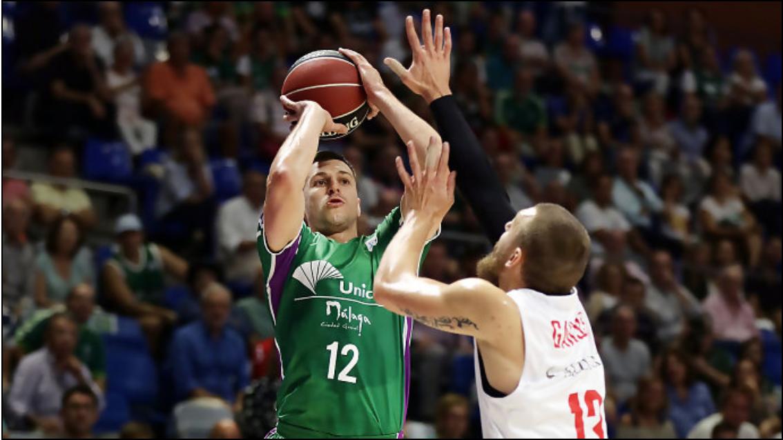 Unicaja líder por basketaverage entre siete equipos con balance 2-0