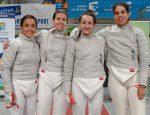 Esgrima - Equipo sable femenino